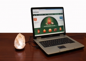 26 Salt lamp USB