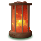 salt lamp basket